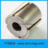 Профессиональный неодимий дуги изготовления наполовину вокруг магнита