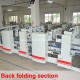 Cuatro esquinas caja corrugada carpeta Gluer máquina (SCM-1800PC C4)