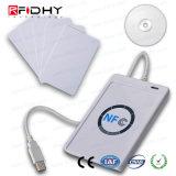 PC-lié sans contact lecteur MIFARE USB 13.56MHz ACR122U Lecteur de carte de NFC