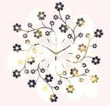 Цифровые часы металла цветения горячего сбывания красивейшие
