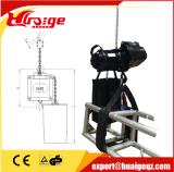 Constructeur électrique d'élévateur à chaînes d'étape
