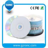 백색 윗 표면 (비 인쇄할 수 있는) 저장 기록 가능한 DVD 디스크