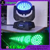 DJ 가벼운 36X12W 4in1 급상승 LED 이동하는 맨 위 세척