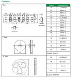 diode Smbj75A de support de surface de 600W TV pour la protection de circuit