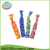 最もよい品質のキャンデーによって結ばれる平らな伸縮性がある毛バンド
