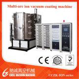 Placa de acero inoxidable oro/Negro/Azul/Color bronce PVD vacío/máquina de revestimiento PVD chapado de vacío máquina