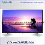 """Schmaler flacher Bildschirm 1080P ATSC NTSC intelligenter WiFi des Anzeigetafel-Ausgangsgebrauch-48 """" Fernsehapparat"""
