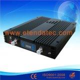 servocommande à deux bandes d'intérieur de signal de téléphone mobile de 23dBm 75dB