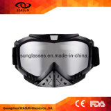 Flexible TPU Frame HD Clear Lens de protection UV Déchirer Racing Motos Goggle Motocross