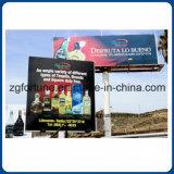 Афиша знамени винила гибкого трубопровода PVC освещенная контржурным светом Frontlit для рекламировать 850g