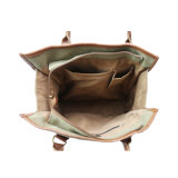 La forme rectangulaire toile dessins imprimés des femmes et de la mens des collections de sacs
