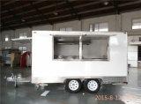 Gas Fryre 6lx2 adentro para los alimentos de preparación rápida móviles que asan a la parilla el departamento del acoplado del carro