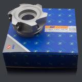 Alimentación de alta Fresadoras (XPR01-100-B32-SD12-06) con inserto de carburo de Zccct