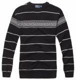 Stutzen-Pullover-Strickjacke der Männer Baumwollrunde (701)