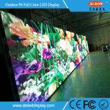 Signe fixe polychrome d'Afficheur LED de l'installation P6 avec la résolution