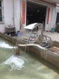 Piscina de aço inoxidável ou equipamento de recurso de água de jardim