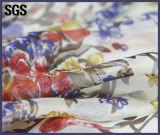 Tissu Chiffon estampé par coutume en soie d'impression de Digitals