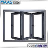 Aluminiumbi-Falten-Tür mit der Doppelverglasung