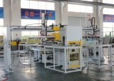 Full-automática máquina de corte bilateral con Manipulador / roscar automático de corte de la máquina