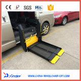 Certificación CE Elevador para silla de ruedas Van la carga de 350kg.