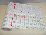 Papel laminado del papel de aluminio del certificado del FDA para las pistas de la preparación del alcohol