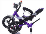 Red Multi-Function 4 in 1 Cheap Kids Baby Dirty Trike Three-wheeled Baby for