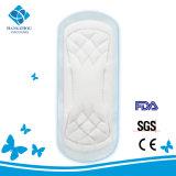 serviette hygiénique de Lady de coton de 245mm pour l'usage de temps de jour