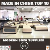 Eindeutiger Entwurfs-passen modernes Sofa-Set ledernes Sofa an