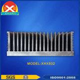 Schwarze Oxidations-Aluminiumstrangpresßling-Kühlkörper für medizinische Ausrüstung