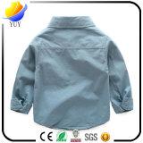 Hoog - Katoenen van de Kwaliteit Mannelijke en Vrouwelijke Bejaarde Hoofd Lange Kraag - Sleeved Toevallig Wild Overhemd