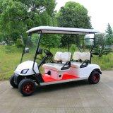 4人の乗客によってカスタマイズされる電気ゴルフカート