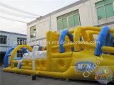 Curso 2017 de obstáculo inflable barato de Gaint para la venta