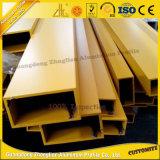 Grand dos creux/tube en aluminium rectangulaire pour le matériau de construction