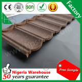 Mattonelle di tetto di pietra del metallo del chip per il sistema di alluminio del tetto