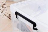 Hotsale 고품질 투명한 플라스틱 저장 상자 가구 음식 옷을%s 쌓을수 있는 저장 케이스