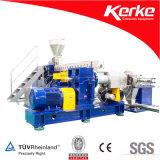 Extruder van het Stadium van de Kabel van pvc van de Apparatuur van het polymeer de Materiële Dubbele