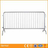 Portable galvanizado de la barrera del control de muchedumbre para la venta