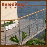 Напольный Railing штанги Rob нержавеющей стали конструкции для балкона (SJ-H026)