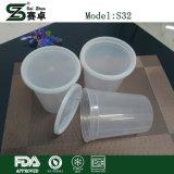Шар контейнеров еды гастронома круглый пластмассы 32 Oz. (с крышками)