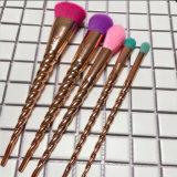 balai coloré de renivellement du cheveu 5PCS avec le traitement d'amorçage d'or