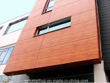 Hölzerne Korn-Farben-phenoplastischer außenvertrag für geprüfte Fassaden