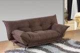 Кровать софы ткани самомоднейшей домашней мебели темная серая (HC006-7)