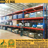 Vigas e pré-montantes para rack de armazenamento de armazém