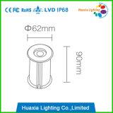 좋은 품질 최신 판매 304 Ss 3 와트 LED 수중 빛