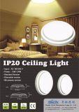 24W Lámparas de techo LED de fácil instalación con sensor de MW