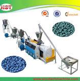 연약한 엄밀한 플라스틱 PVC 합성 과립 알갱이로 만드는 밀어남 생산 라인