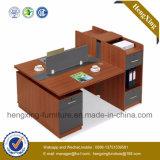 現代デザインワークステーションMDFの木のオフィス用家具(HX-NCD357A)