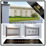 Stile classico che recinta la rete fissa di alluminio del giardino dei comitati con alto Securtity