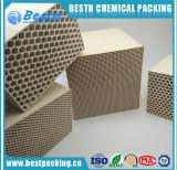 L'alumine Mullite Honeycomb pour échange de chaleur en céramique Media Block