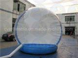 Globo gonfiabile gigante della neve, globo umano della neve di formato per fare pubblicità